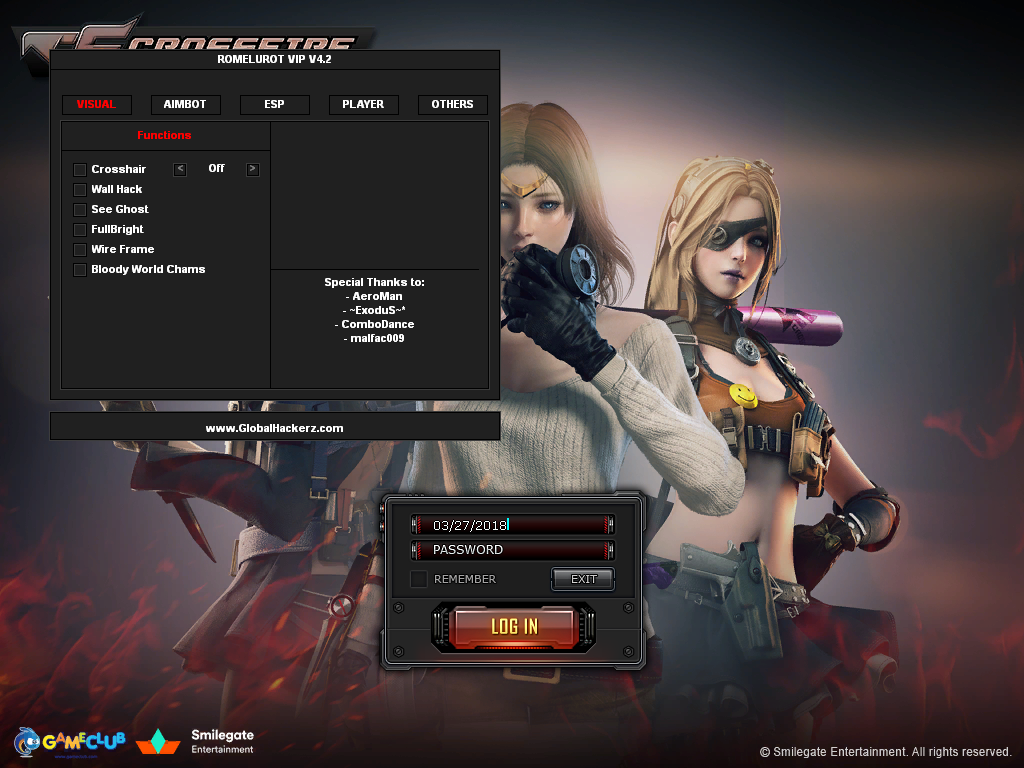 how to hack crossfire account using username and password 2018