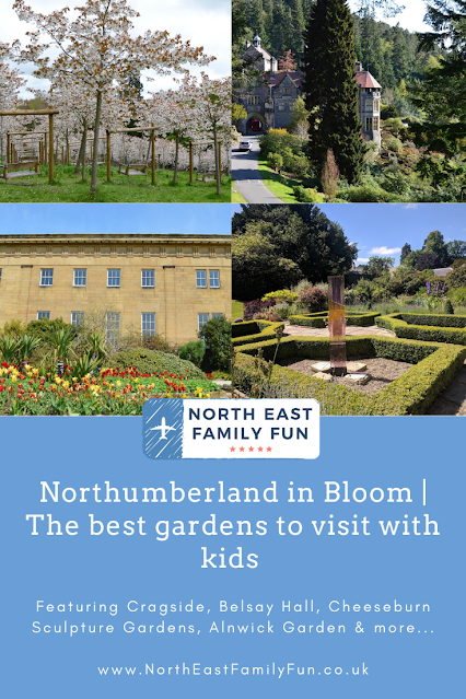 Northumberland in Bloom | My favourite gardens to visit with kids