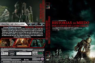 CARATULA - HISTORIAS DE MIEDO PARA CONTAR EN LA OSCURIDAD - SCARY STORIES TO TELL IN THE DARK