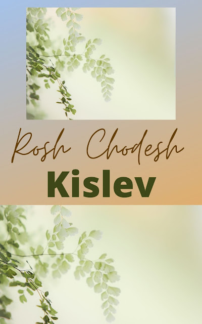 Happy Rosh Chodesh Kislev Greeting Card | 10 Free Beautiful Cards | Happy New Month | Ninth Jewish Month