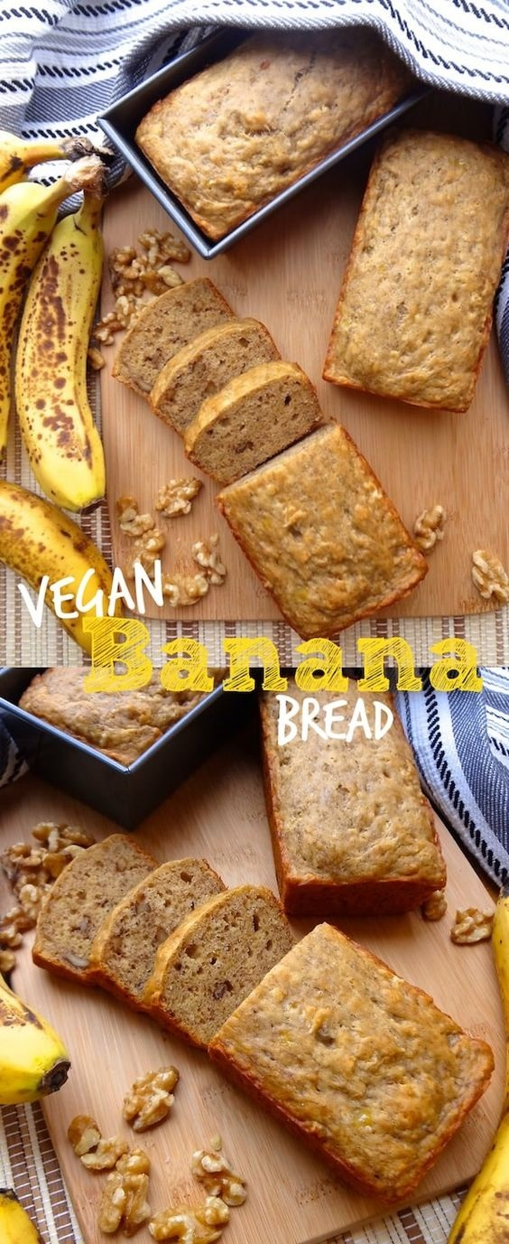 The Best Vegan Banana Bread