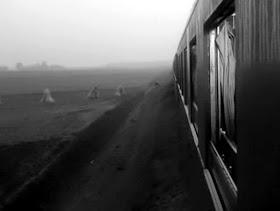 motyw kolejowy pociąg