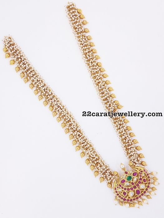 Pearls Long Chain by Kothari jewelry
