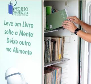 Geladeiroteca fornece acesso à leitura em Pariquera-Açu