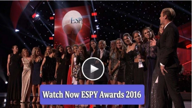 ESPN 2016 ESPY Awards  live stream