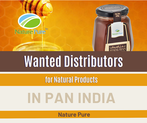 Wanted Distributors, Super Stockist for Natural Products in Pan India