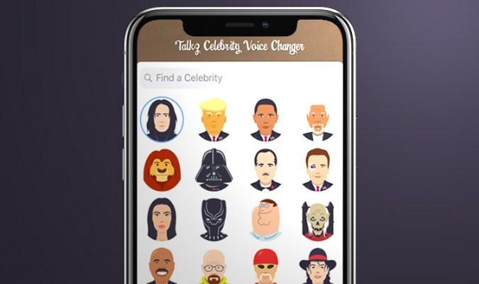 Aplikasi Pengubah Suara Terbaik tuk iOS - Celebrity Voice Changer