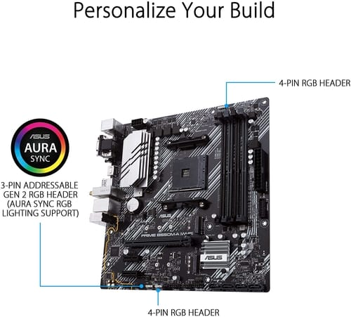 Review ASUS Prime B550M-A WiFi AMD AM4 Motherboard