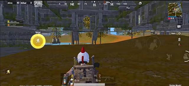 PUBG Lite underground Glitches in Golden Woods map