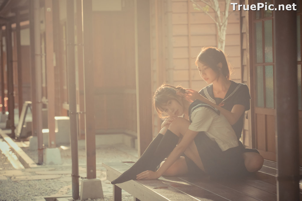 Image Taiwanese Model - 龍龍 &岱倫 - Beautiful Twin Angels - TruePic.net - Picture-3