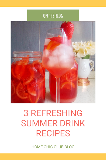 3 Refreshing summer drinks recipe