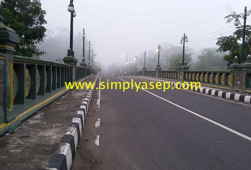 MEGAH : Inilah jembatan Irung Petruk yang berdiri denga megahnya Foto Asep Haryono