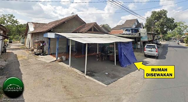 Kontrakan tepi jalan dekat Jogja Bay