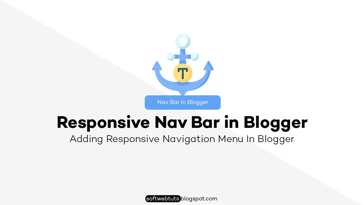Adding Responsive Navigation Menu in Blogger - Complete Guide