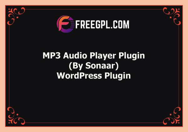 MP3 Audio Player Plugin for WordPress Free Download