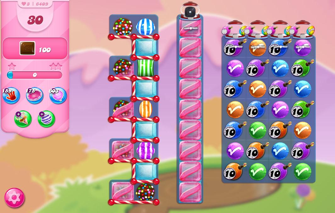 Candy Crush Saga level 6409