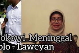 Ibunda Jokowi Meningga Sore tadi