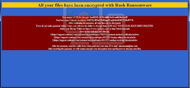 Rush - Ficheros cifrados .remind