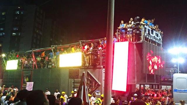 Trio elétrico carnaval Salvador