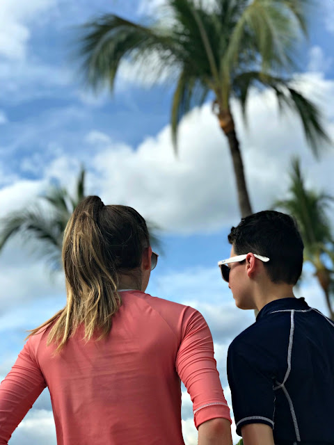 resort travel for a family vacation in Mexico
