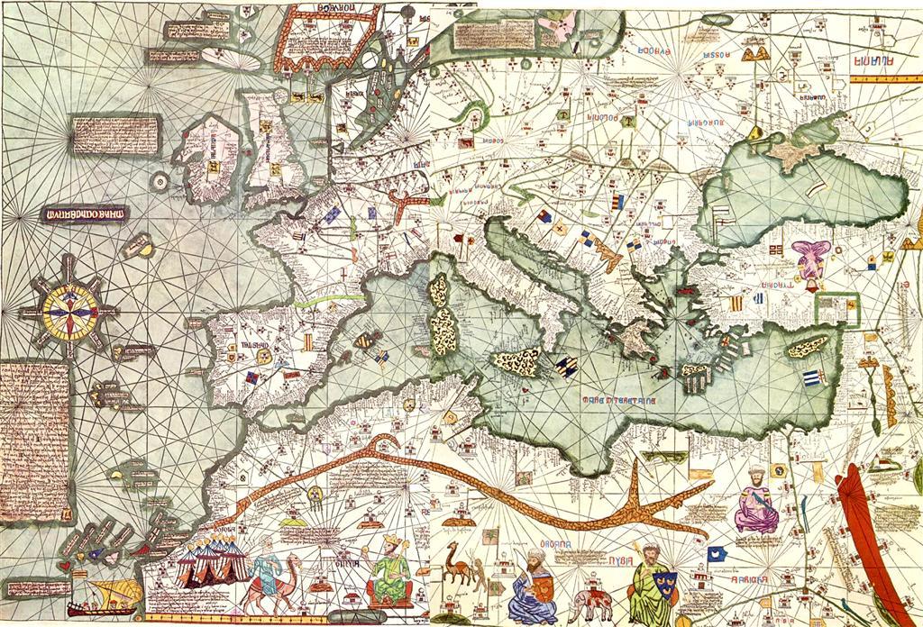 Atlas catalán de 1375