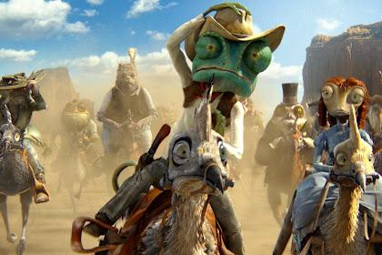 Fakta film Rango: Kecaman Betapa Kasarnya Animasi Wild West Ini
