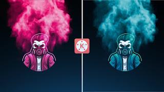 Epic Smoke Intro Template For Kinemaster #7