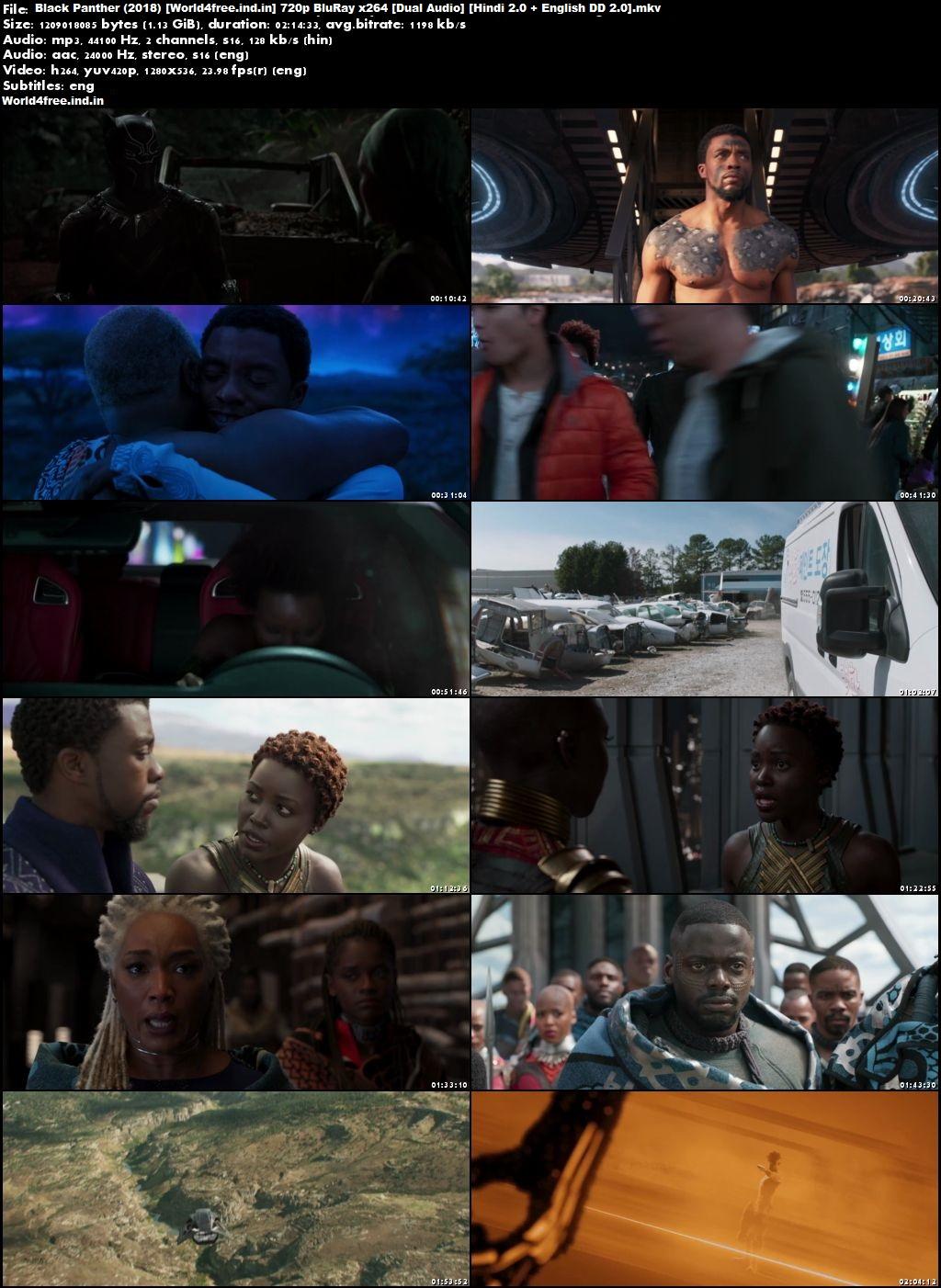 Black Panther 2018 worldfree4u Full Hindi Movie Download Dual Audio HD