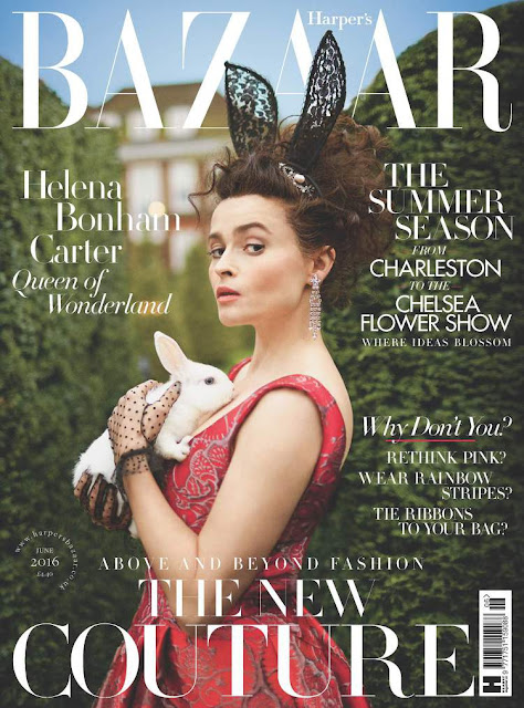 Actress, @ Helena Bonham Carter - Harper's Bazaar UK, June 2016