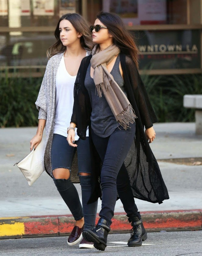Selena Gomez flaunts winter style out and about in LA