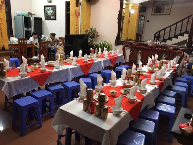 Nấu cỗ tại nhà- Tiệc Tân Gia