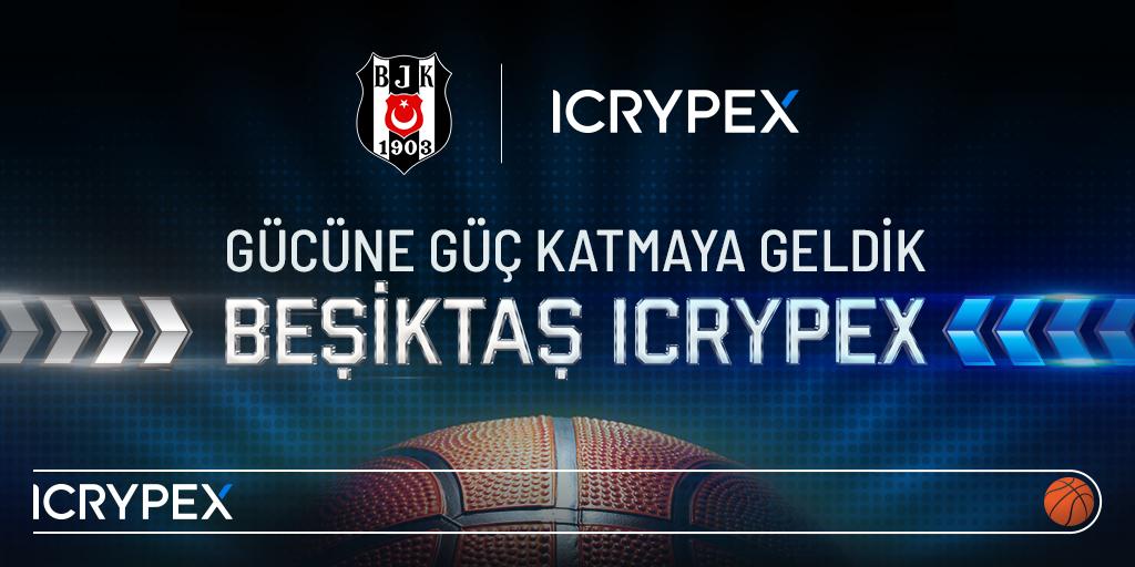 Icrypex Beşiktaş Basketbol Takımının Sponsoru Oldu!