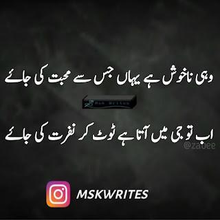 Izhar E Mohabbat Shayari