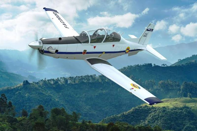 Colombian Air Force selects T-6C Texan II light attack aircraft