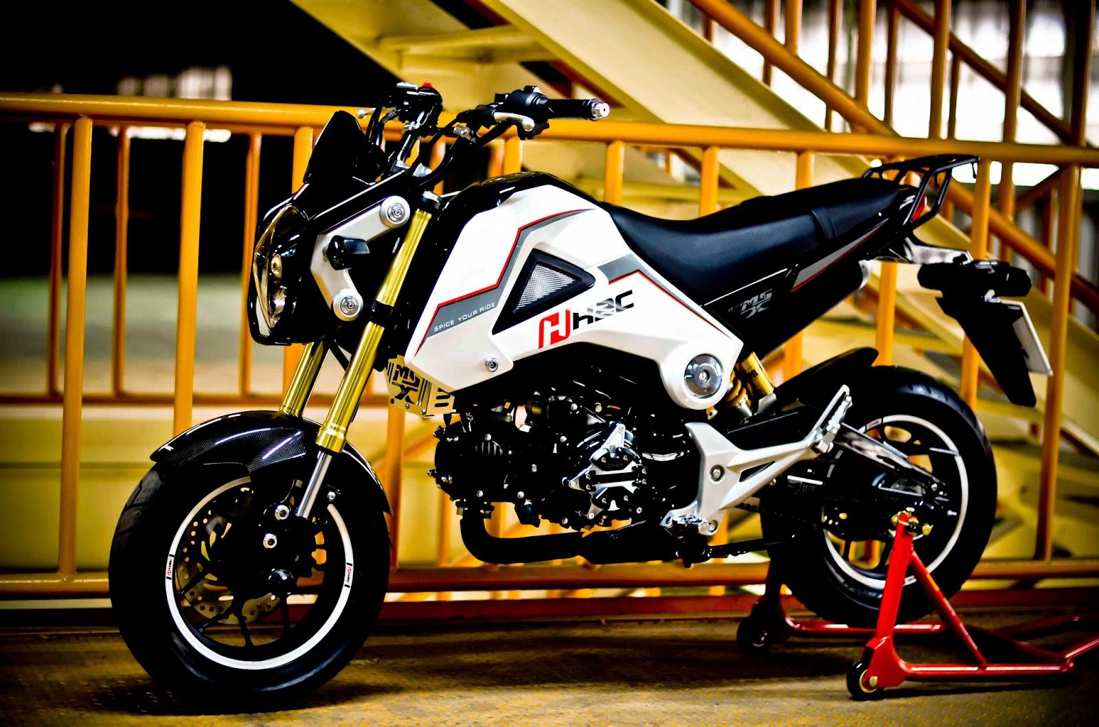 Dunia Modifikasi Galeri Modifikasi Motor Honda Msx 125 Terbaru