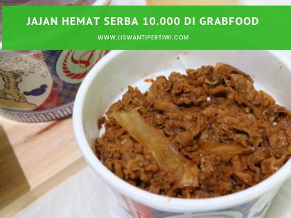 Jajan Hemat serba 10.000 di GrabFood