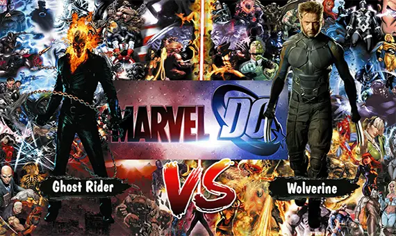 Mugen DC, Marvel Comics