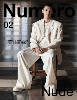 INYIM Fashion CoverStory: Numéro Homme NL By Koen T Hendricks Feat Model Dashing Danish Model Nikolai de Laborde de Montpezat!