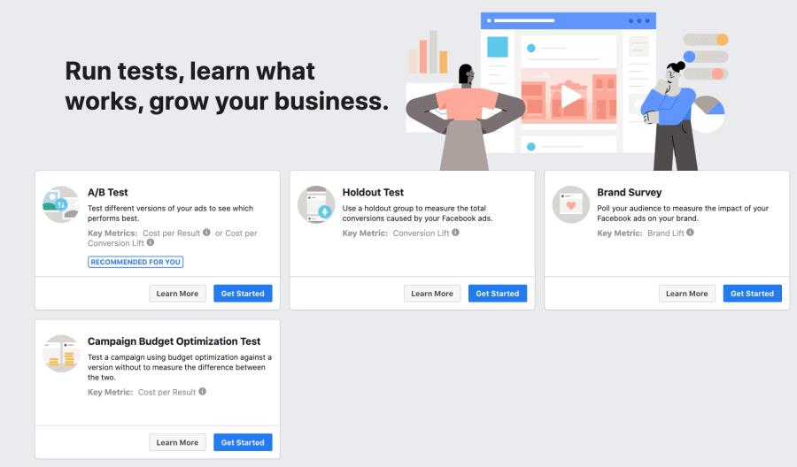Test&Learn Facebook