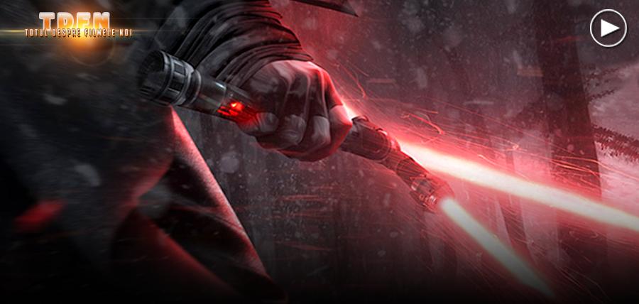 Regizorul J.J. Abrams, vorbeşte despre forma mânerului sabiei laser din trailerul Star Wars: The Force Awakens.