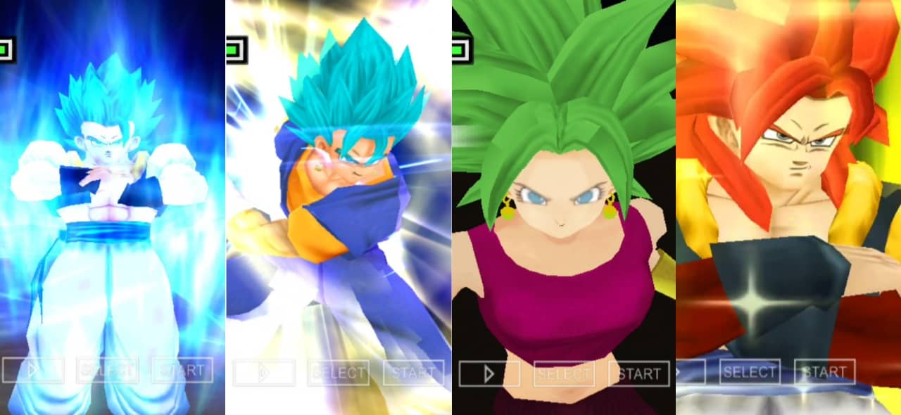 Dragon Ball Legends All Fusions Characters