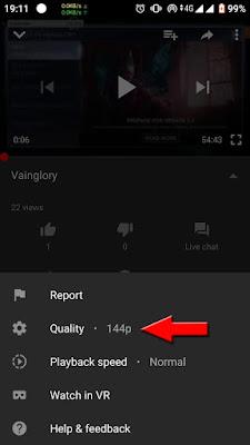 Cara Menghemat Data di Youtube Kualitas Rendah