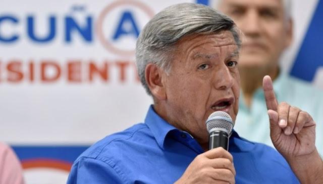 César Acuña ofrece aumento de sueldo mínimo
