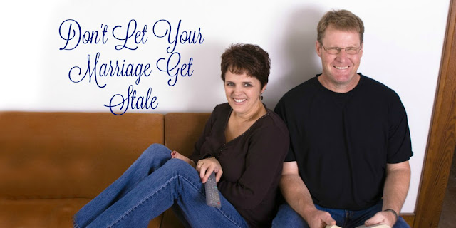 Don't let your marriage get stale. Find ways to be your husband's girlfriend. This short devotion offers ideas and Scriptures to help. #Marriage #BibleLoveNotes #Bible #Devotions