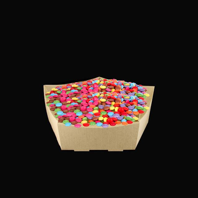 Koszyk z cukierkami