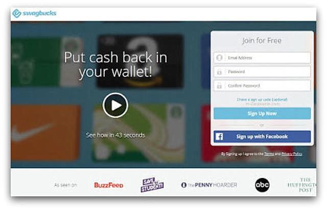 Zarobki w SwagBucks (wypłacalne strony, ankiety, cashback, wyszukiwarka).