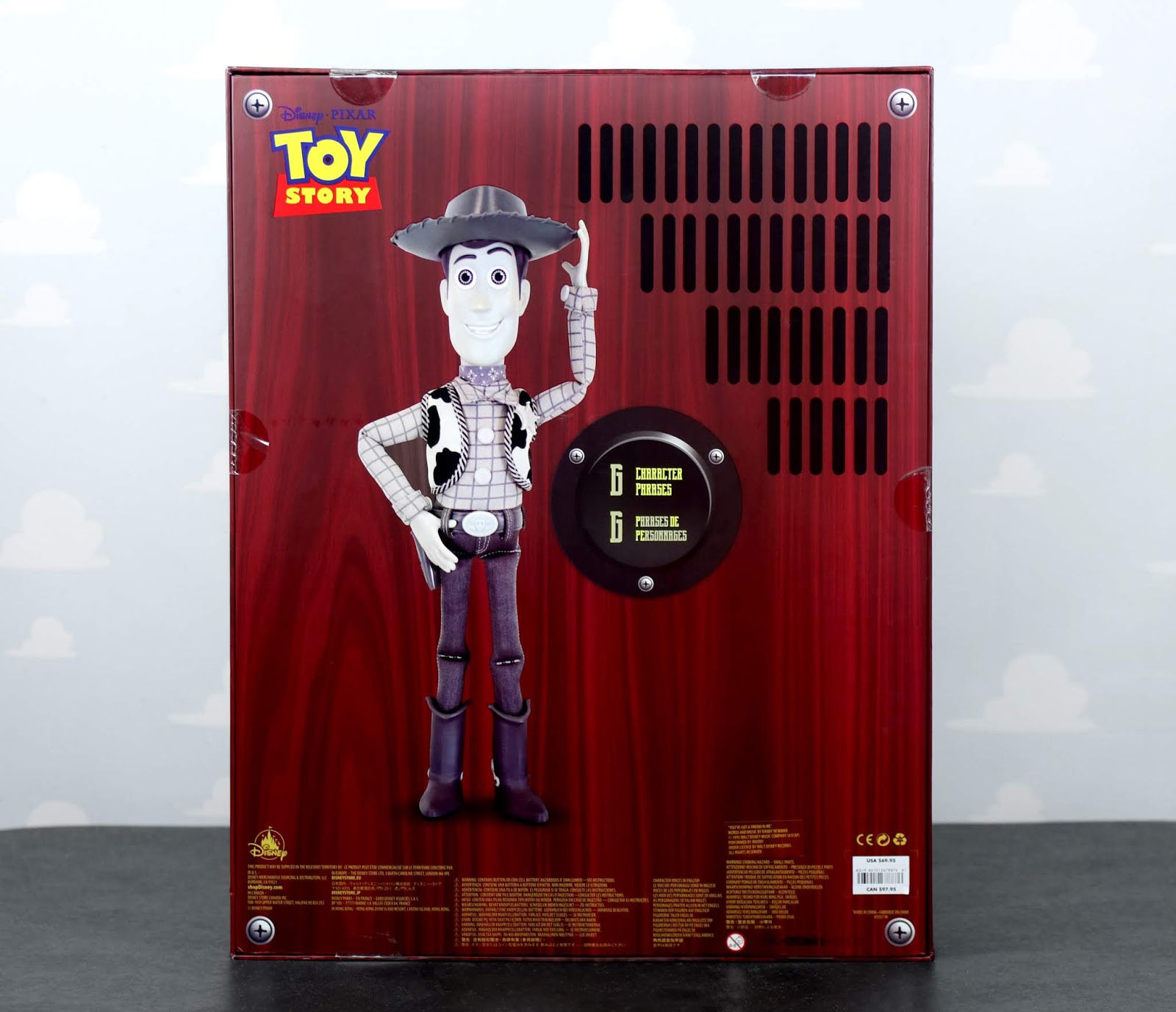 d23 expo 2019 exclusive talking woody review