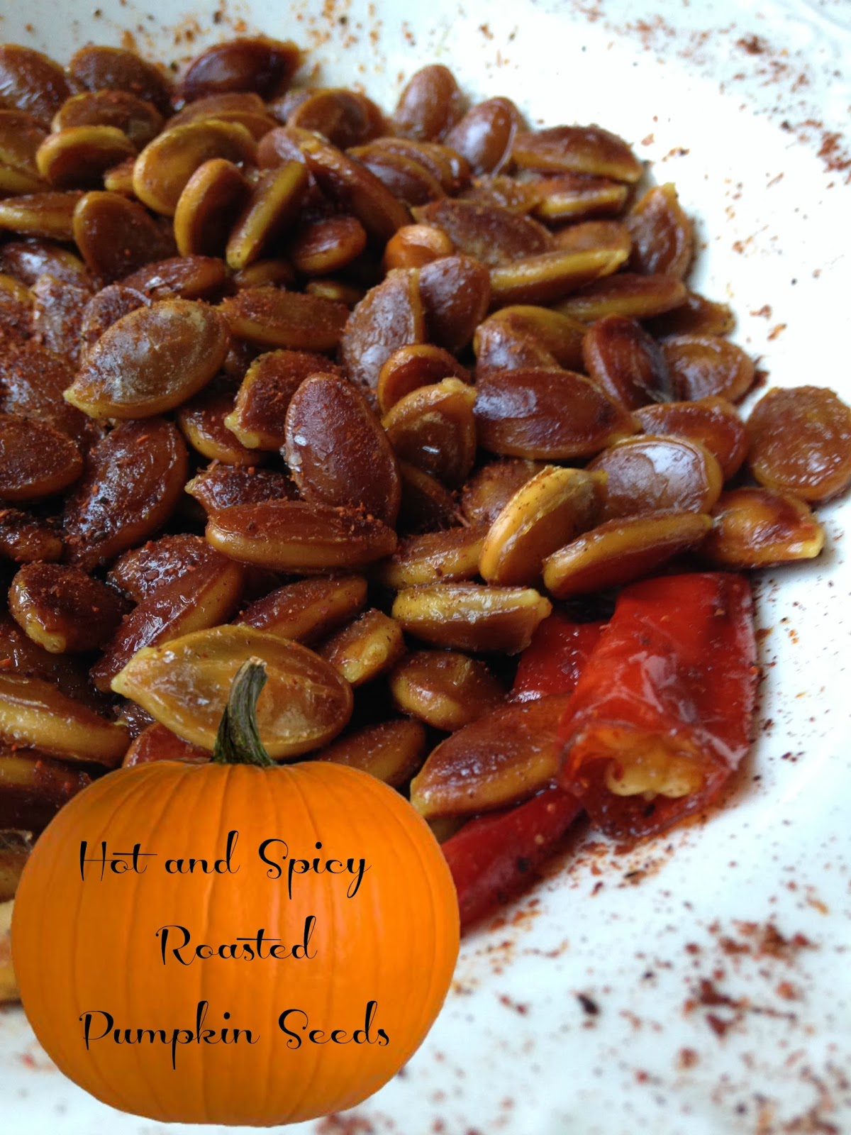 Hot And Spicy Roasted Pumpkin Seeds Turnips 2 Tangerines