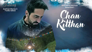 this is an image of Ayushmann Khurrana in Chan Kitthan Guitar Chords