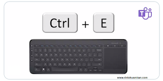 Pintasan keyboard untuk Microsoft Teams
